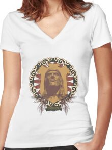 Renaissance Women's Fitted V-Neck T-Shirt