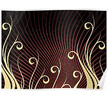 Design abstract background  Poster