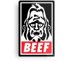 Obey Beefsquatch Metal Print