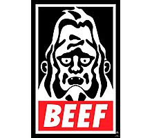 Obey Beefsquatch Photographic Print