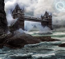 Fantasy Tower Bridge by phatpuppy