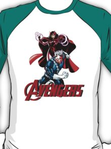 Avenger Twins - Scarlet Witch and Quicksilver T-Shirt