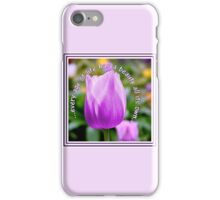 A Tulip for All Ages iPhone Case/Skin