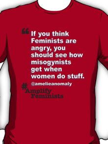 Angry Feminists T-Shirt