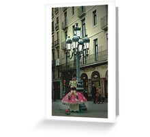 Street Story Greeting Card