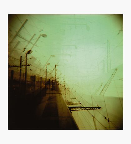 The future's a concept we use to avoid being alive today Photographic Print