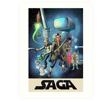 Saga - Movie Poster Art Print