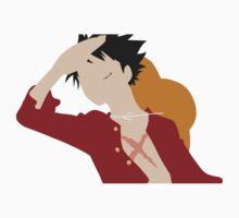 D. Luffy One Piece - Short Sleeve