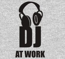 Dj At Work - Headphones by deanonet