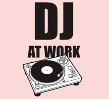 DJ At Work - Turntable by deanonet