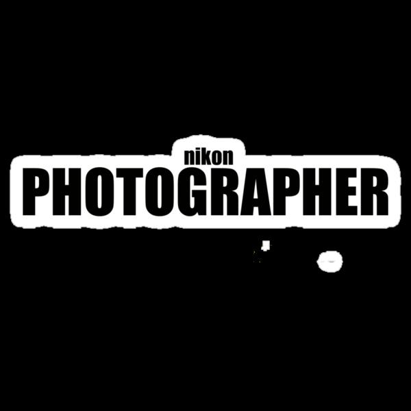 Nikon Photographer (Black) by deanonet