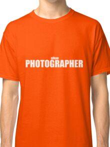 Nikon Photographer (White) Classic T-Shirt