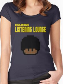 SOULective Listening Lounge Tee - 008 Women's Fitted Scoop T-Shirt