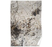 White Sands Formations Poster