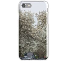 Whither white blossoms? iPhone Case/Skin