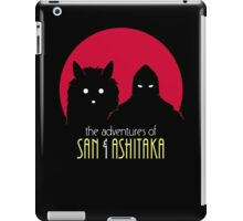 The Adventures of San & Ashitaka iPad Case/Skin