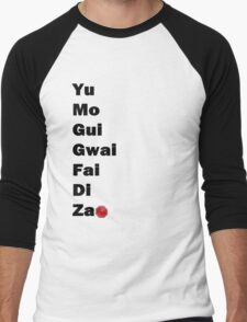 Yu Mo Gui Etc. Men's Baseball ¾ T-Shirt