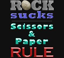 ROCK sucks! Unisex T-Shirt