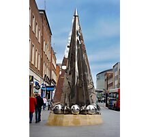 Exeter City Centre #4 Obelisk of Riddles Photographic Print