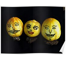 Adorned Apple Cucumbers Poster