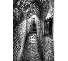 The Tunnel 2 (BW) Photographic Print