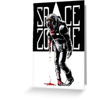 SPACE ZOMBIE Greeting Card