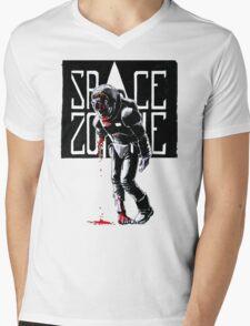 SPACE ZOMBIE Mens V-Neck T-Shirt