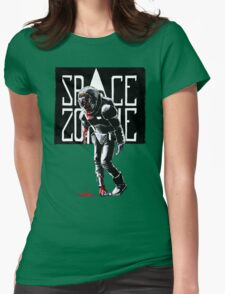 SPACE ZOMBIE Womens Fitted T-Shirt