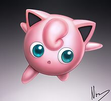 Jigglypuff by hybridmink