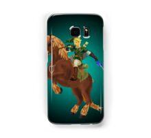 Link and Epona Samsung Galaxy Case/Skin