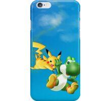 Yoshi and Pikachu iPhone Case/Skin