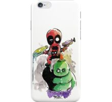 Deadpool - Hulk baby iPhone Case/Skin