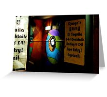 'Night Life' Liverpool At Night Photography Greeting Card