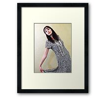 Hippie Style. Framed Print