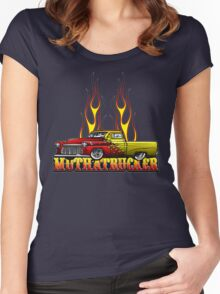 Mutha Trucker Women's Fitted Scoop T-Shirt
