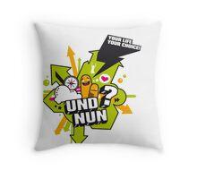 Und Nun? Throw Pillow