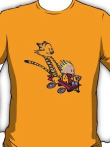 calvin and hobbes speed T-Shirt