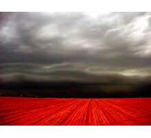 hot storm Photographic Print