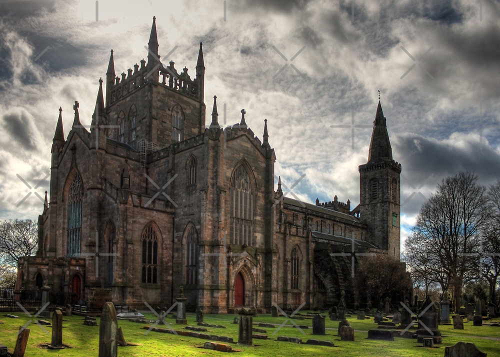 Dunfermline Abbey Church by Tom Gomez