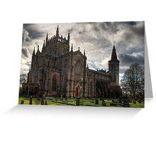 Dunfermline Abbey Church Greeting Card