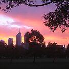 Sundown on Perth by Karina  Cooper