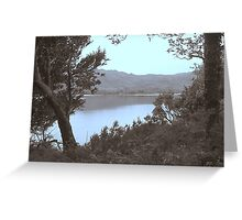 Killarney Lakes Kerry Ireland Greeting Card