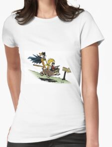 Calvin and Hobbes cosplaying T-Shirt