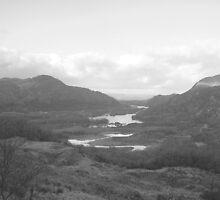 Ladies View Gap of Dunloe Killarney Co. Kerry Ireland by James Cronin
