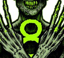 8th Annual Chicago Zombie March 2015 Sticker