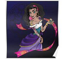 Disney Heroines - Esmeralda Poster