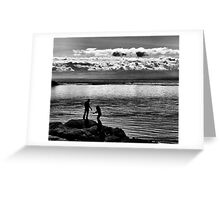 Take My Hand  Greeting Card
