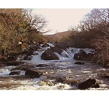 Ripping River Gap of Dunloe Co Kerry Ireland Photographic Print