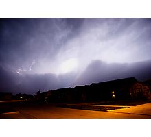 Lawton Lightning Photographic Print