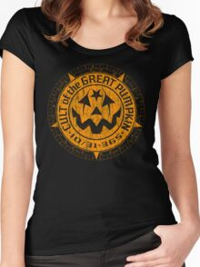 Cult of the Great Pumpkin: Alchemy Logo Women's Fitted Scoop T-Shirt